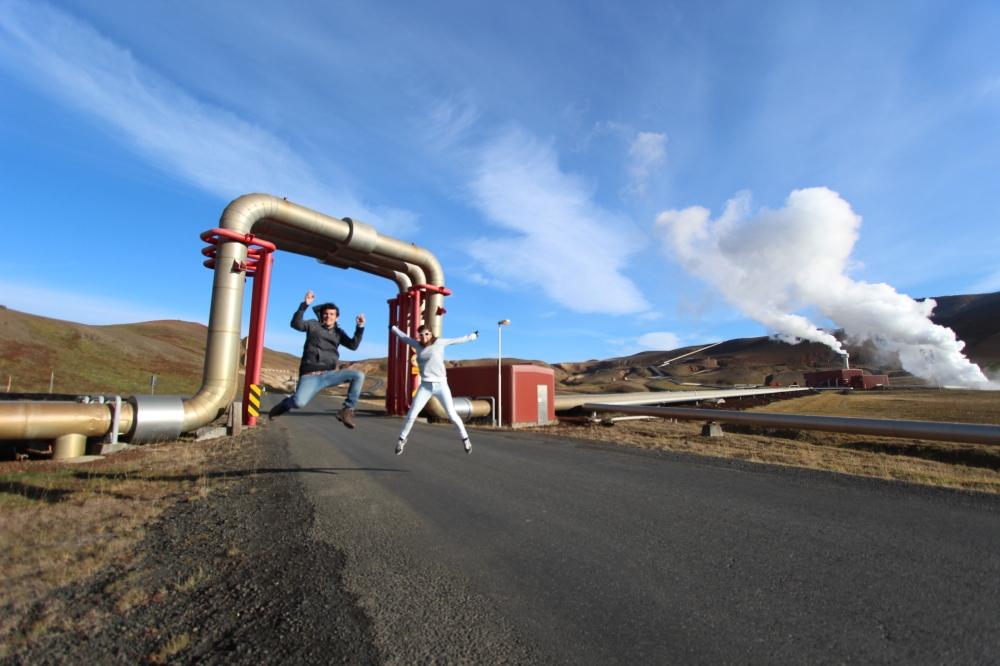 Tubería en Islandia