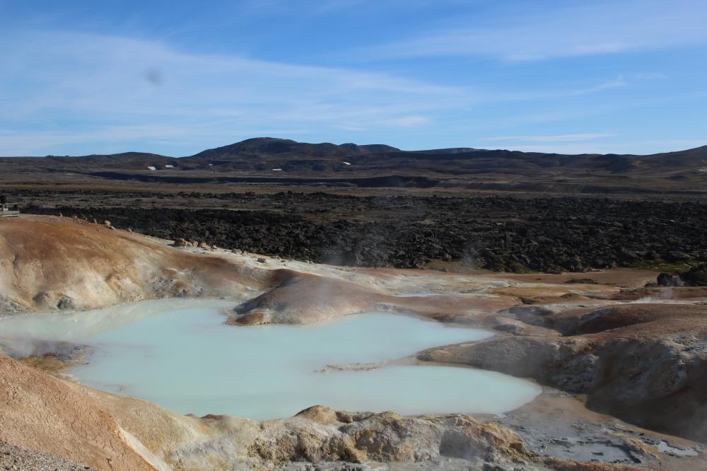 Camino de las moscas Islandia