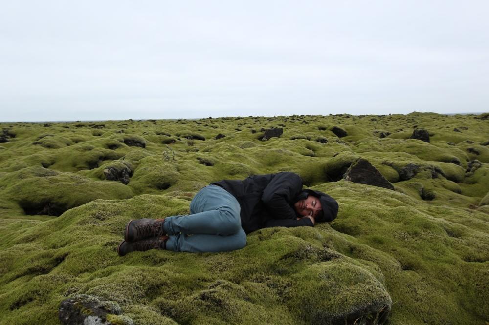 Durmiendo en Islandia