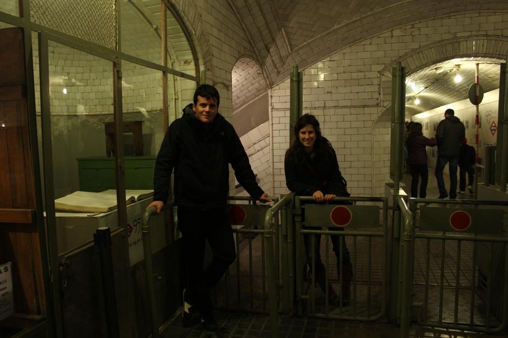 Museo Andén 0 -Metro Chamberí