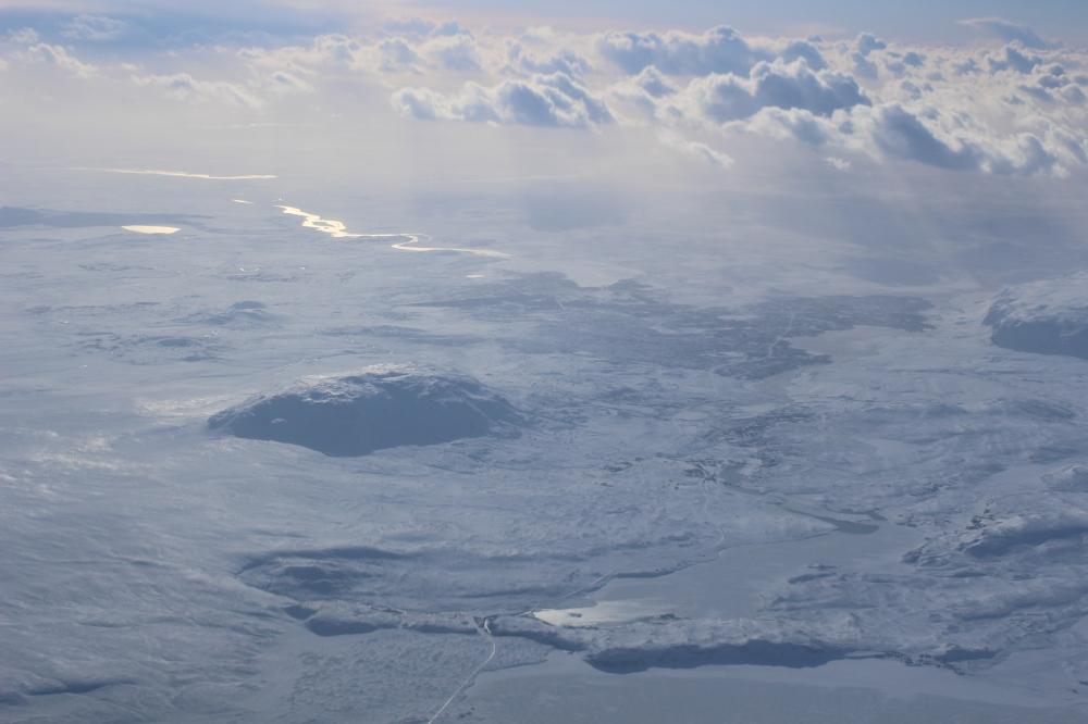 Islandia desde el aire