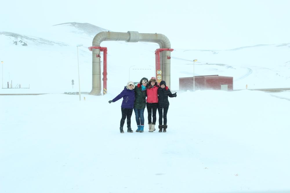 Zona geotérmica - Islandia