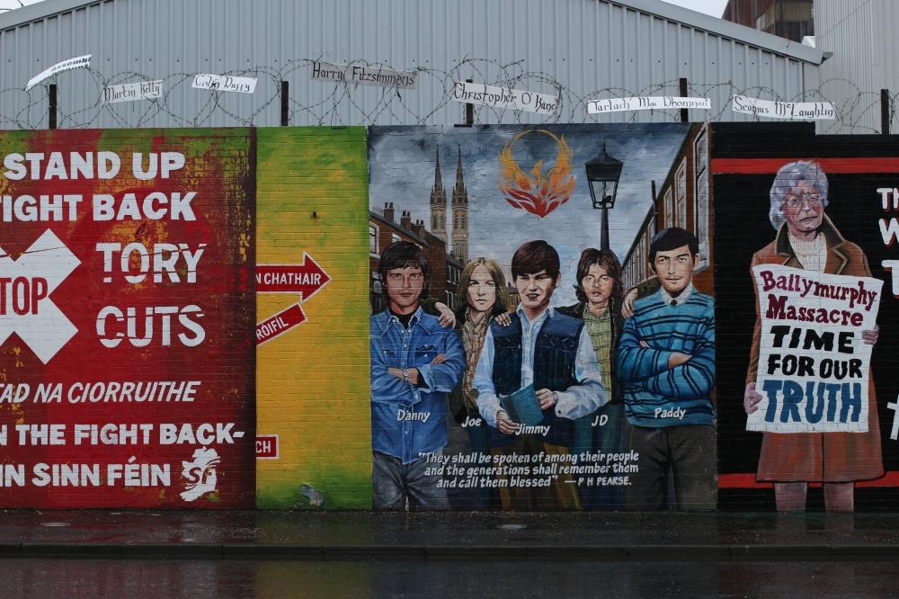 Murales en Belfast