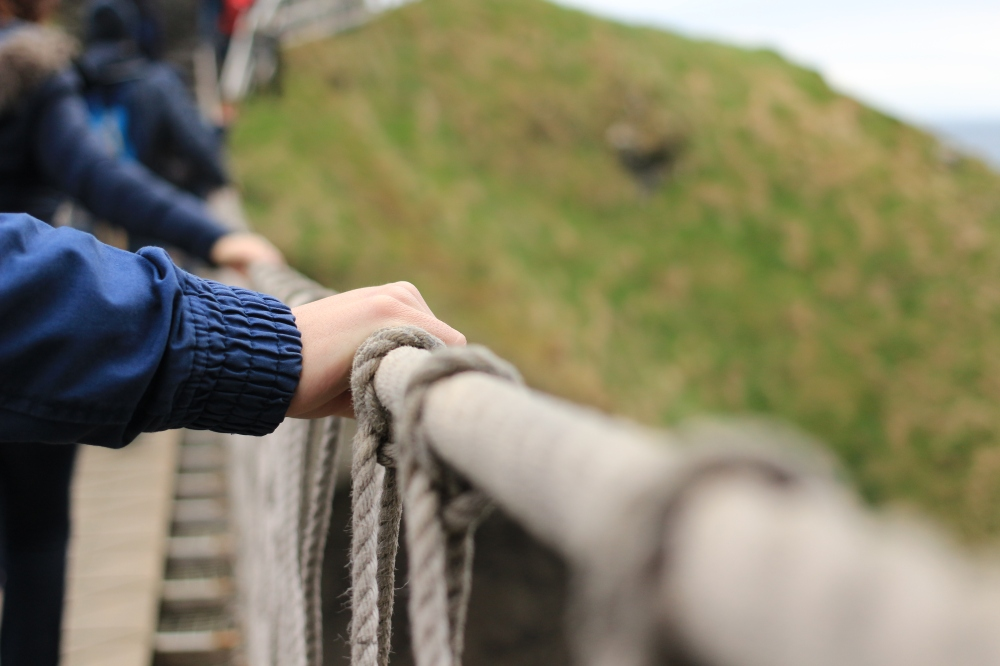 Irlanda del Norte - Carrick-a-Rede Rope puente