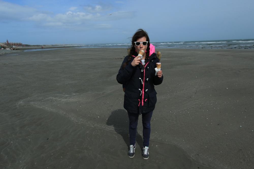 Helado en la Playa