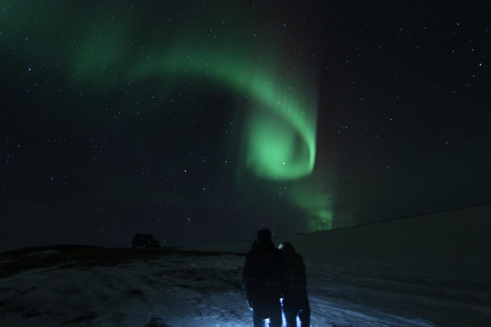 Borja y Tami aurora