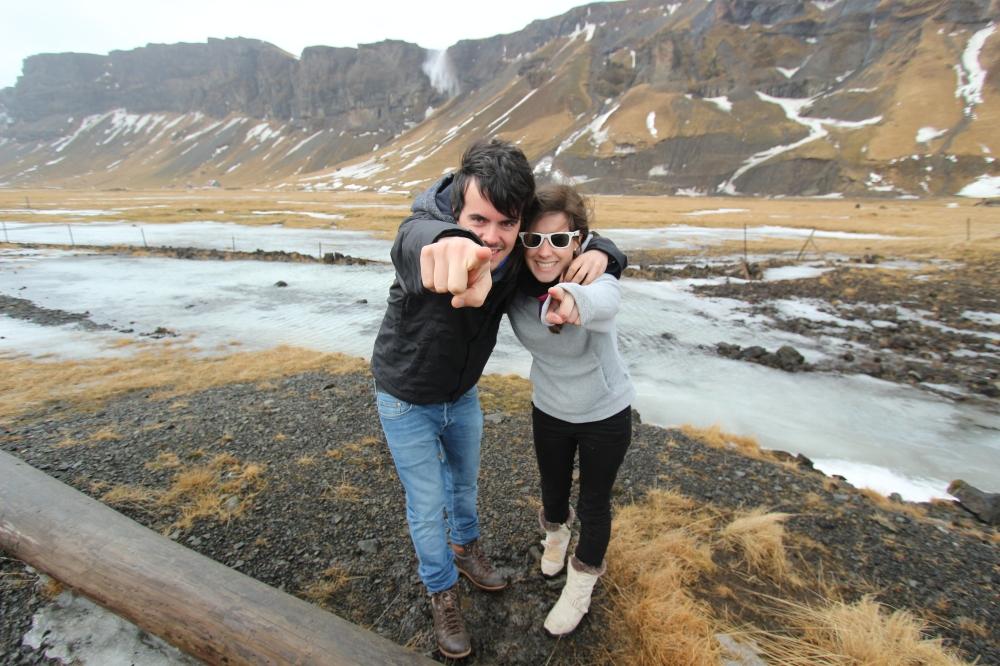 Borja y Tami en Islandia