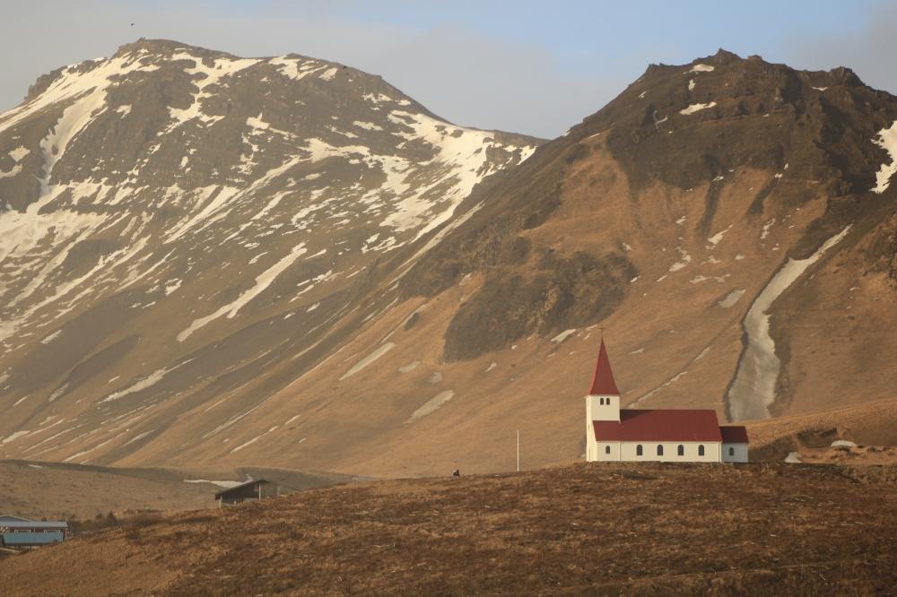 Iglesia de Vik