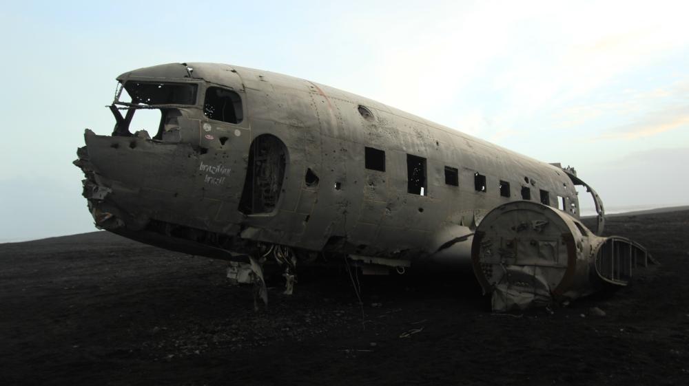 Playa del avión