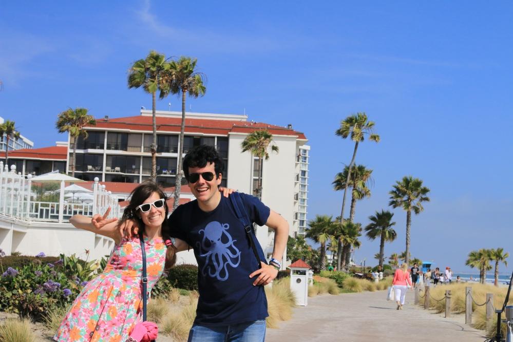 Borja y Tami en California