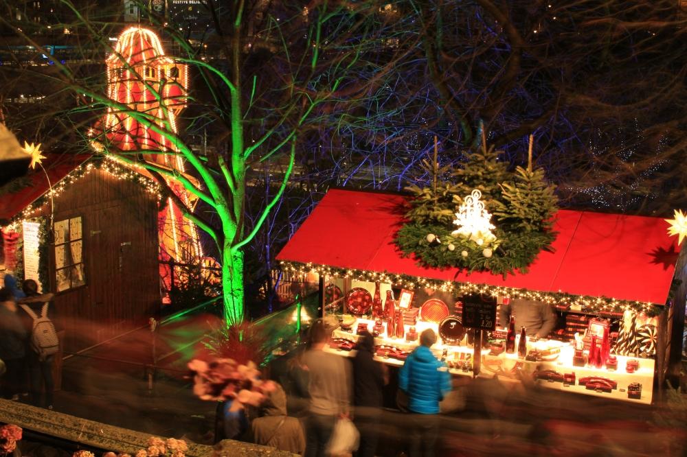 Mercado Navidad Edinburgo