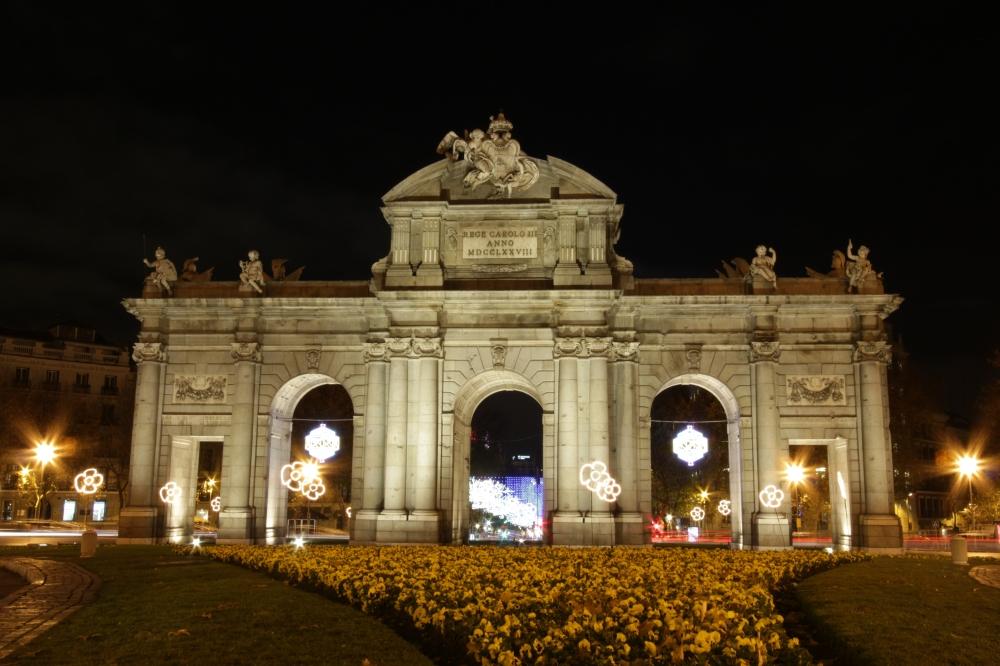 La puerta de Alcalá - Navidad Madrid