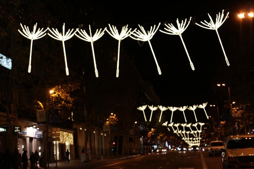 Calle Serrano Madrid - Navidad