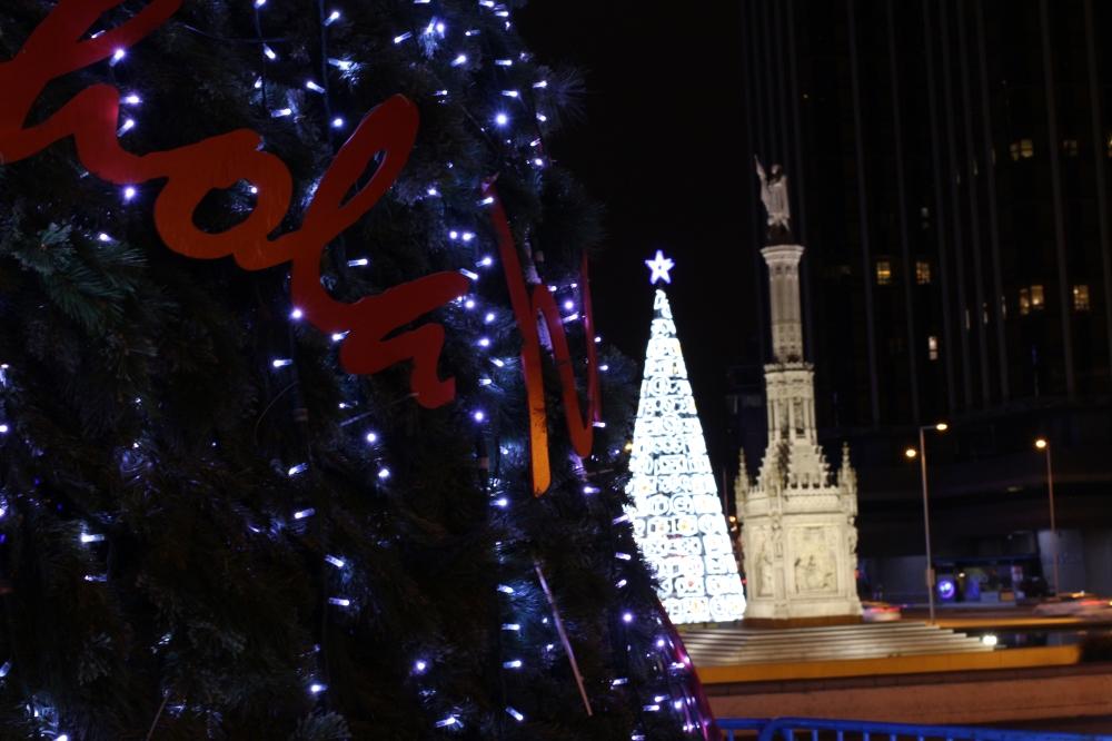 Navidad - Plaza de Colón Madrid