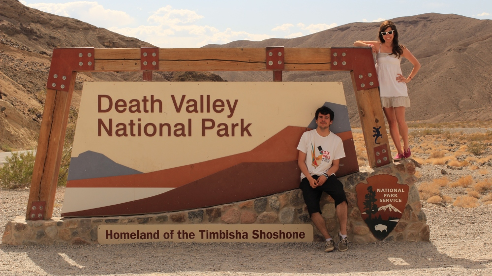 Death Valley - Entrance