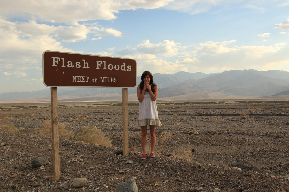 Flash Floods sign