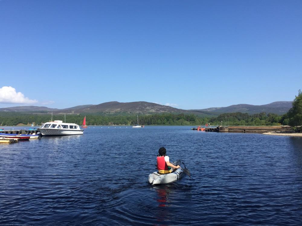 Borja en el kayak