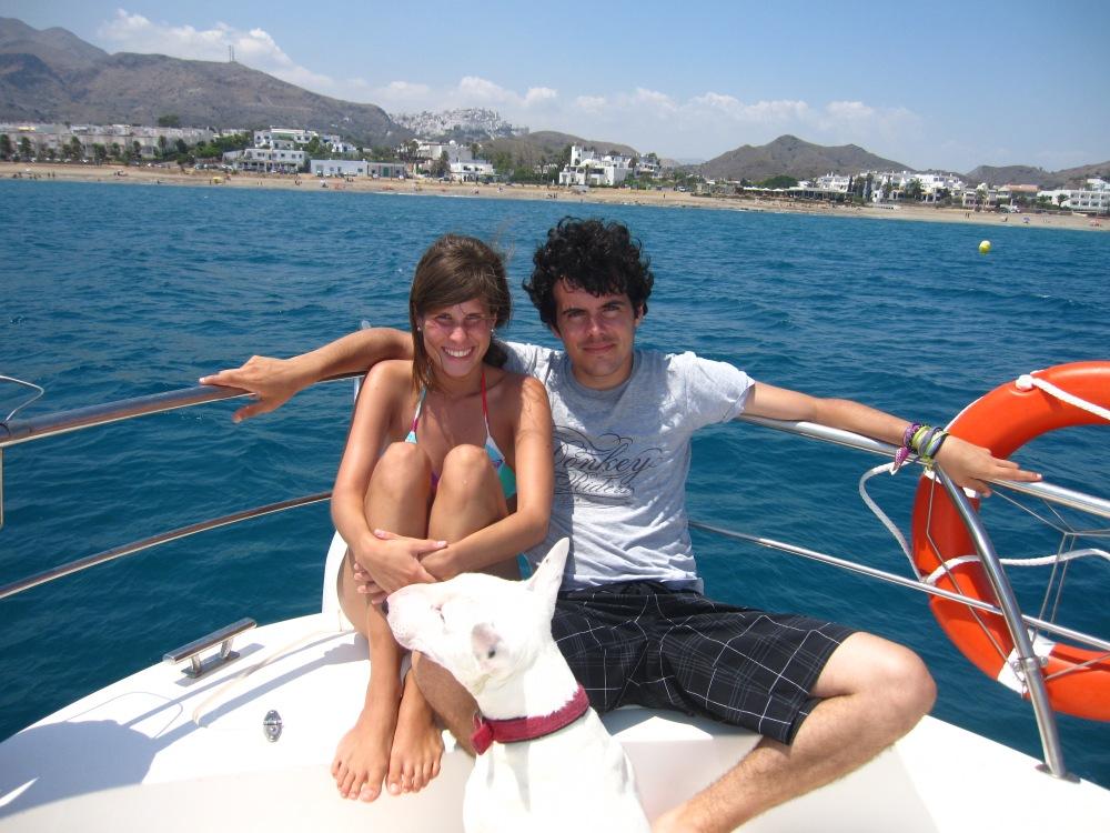 Borja y Tami Mojacar