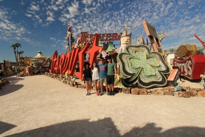 Family en Las Vegas