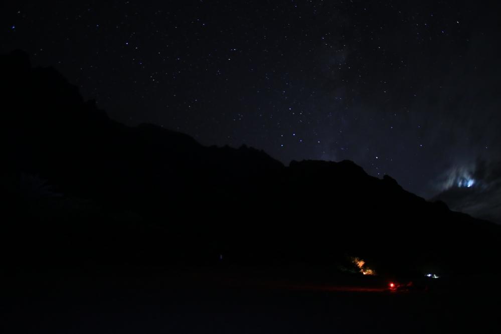 Kalalau de noche