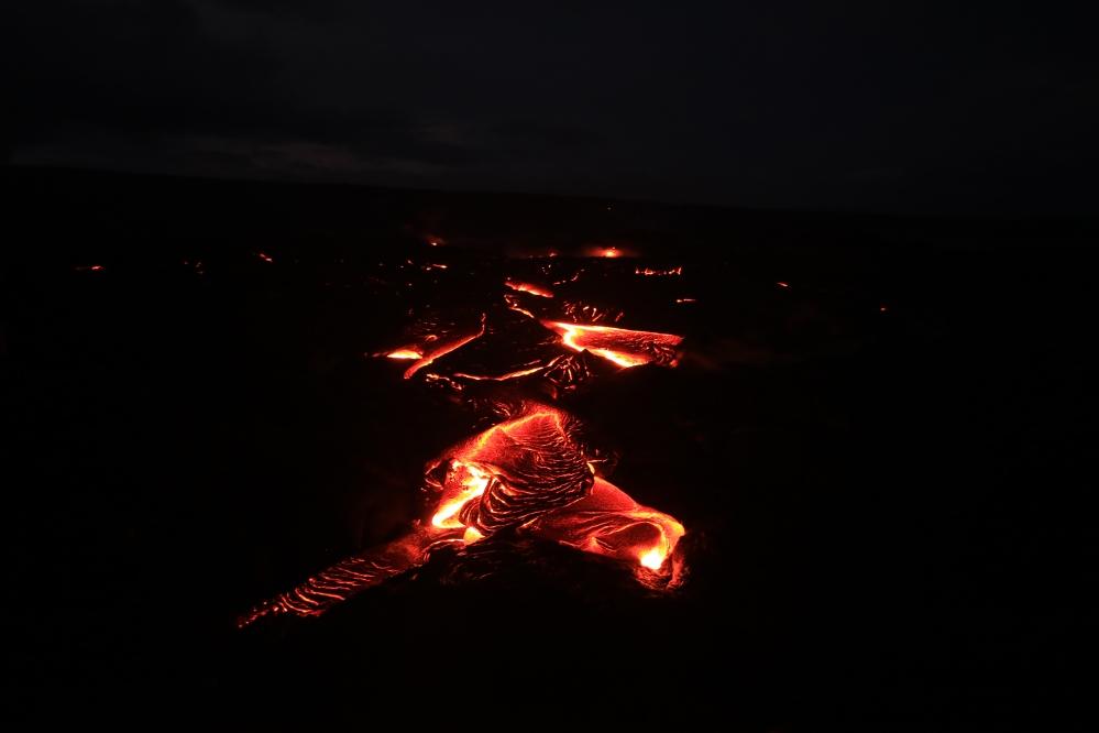 Pahoehoe lava - Hawaii - Big Island