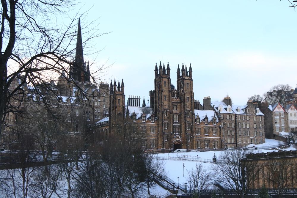 Edinburgh - snow