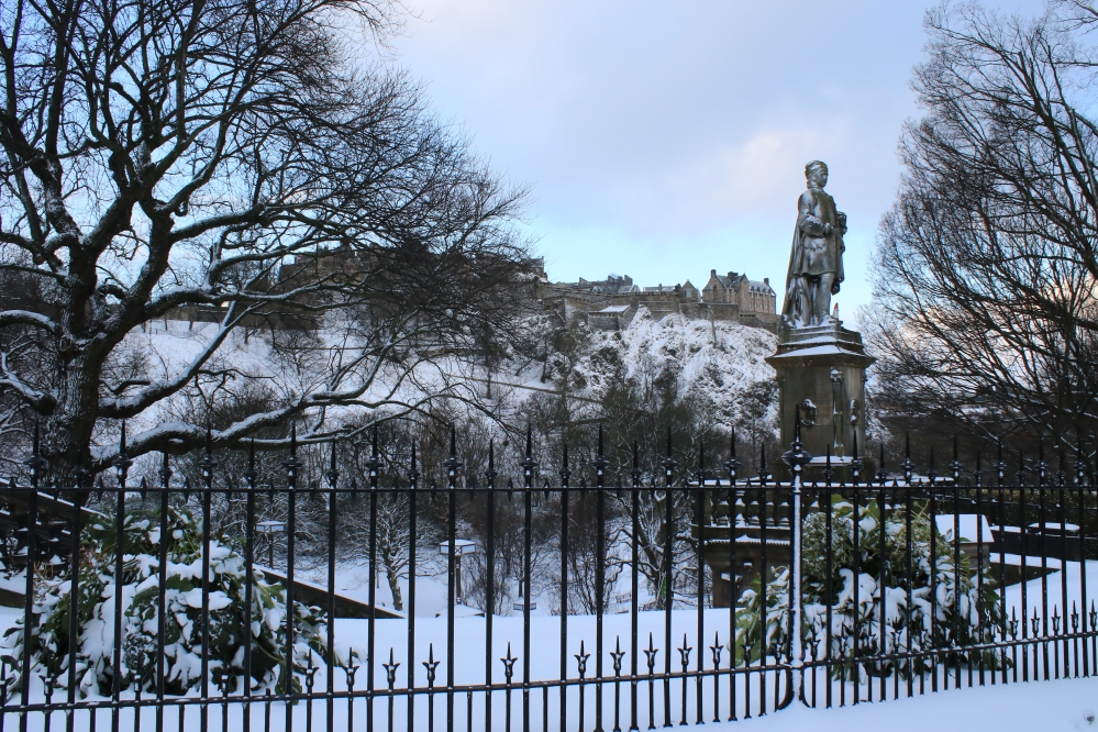 Edinburgh - snow