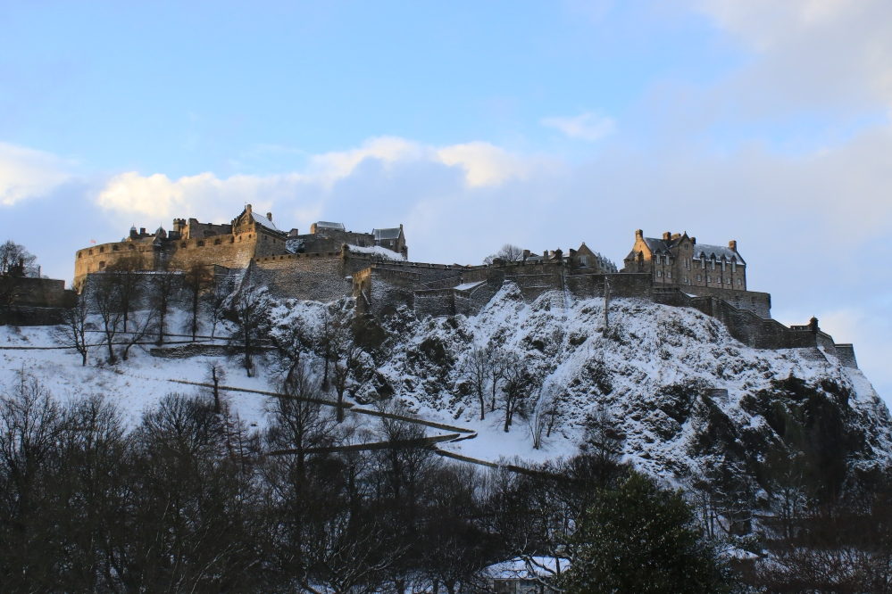 Edinburgh Castle - Snow