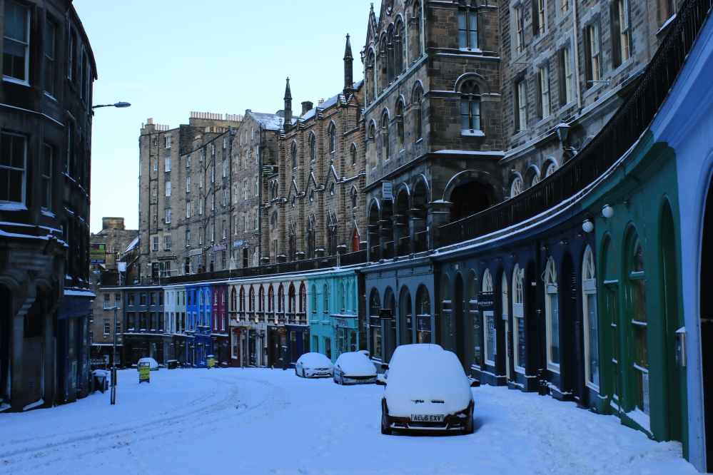 Victoria Street - snow