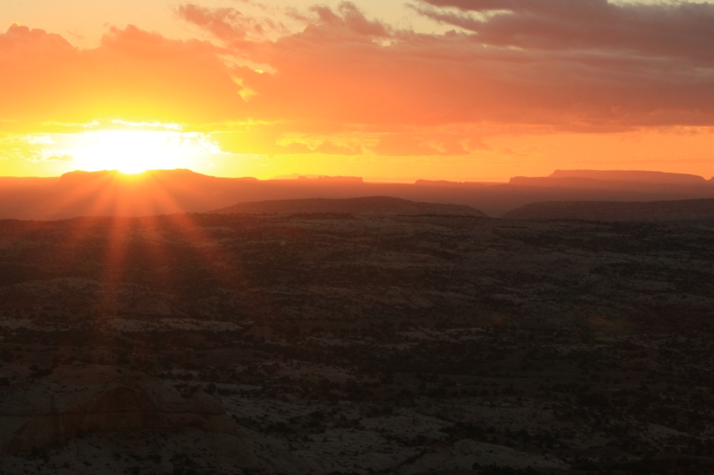 Sunrise in Escalante