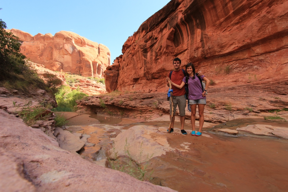 Escalante - Coyote Gulch trail