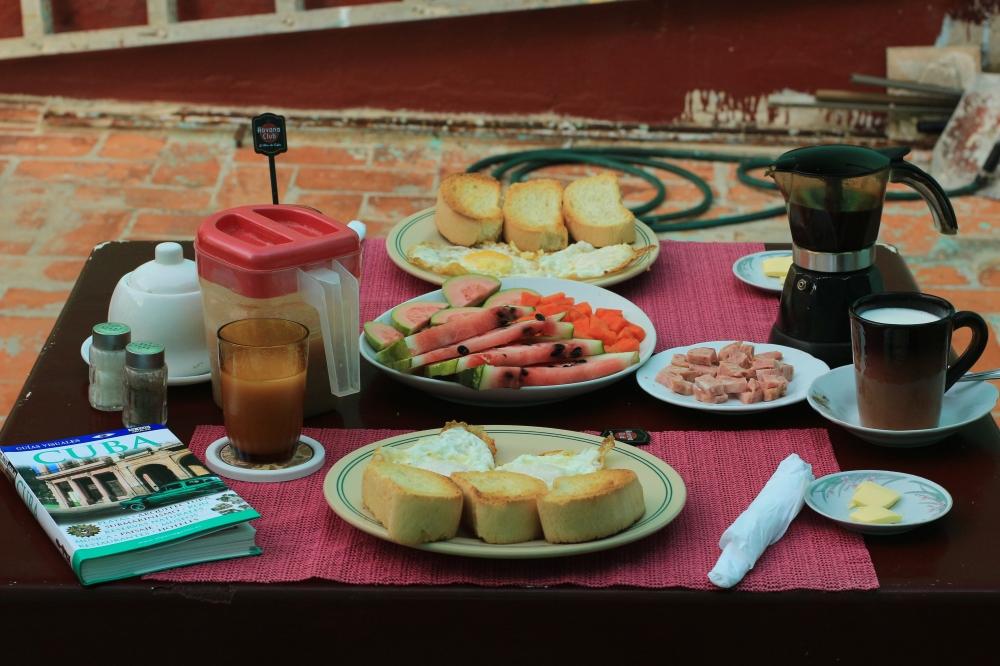 Desayuno con Jorge