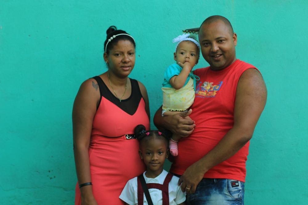 Jorge y su familia