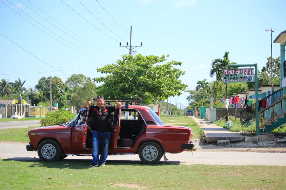 Ruben y su coche